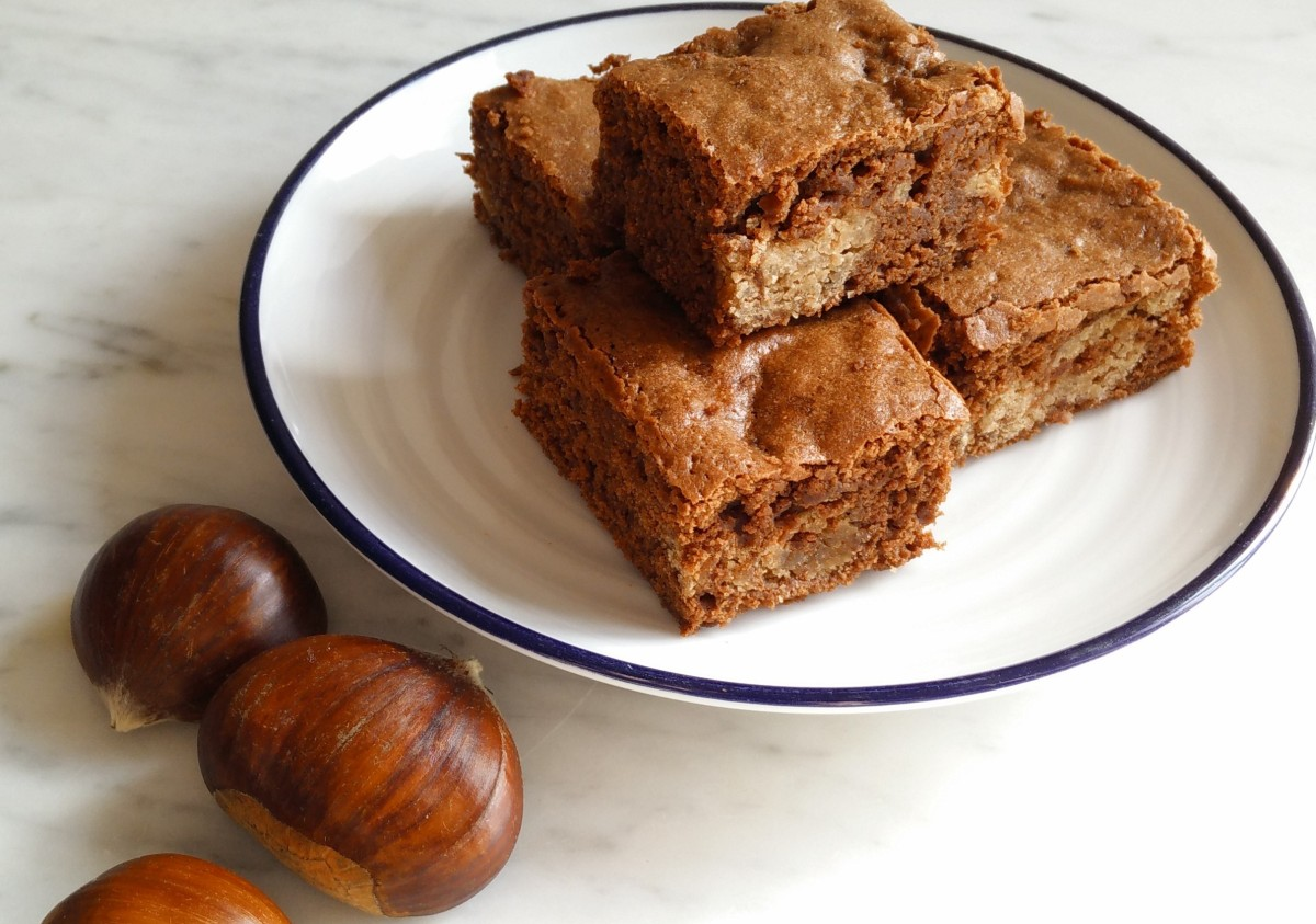 Recipe: Brownies with Purée de Marrons