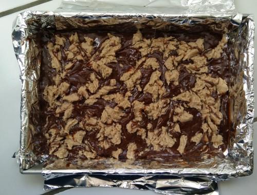 chestnut swirl brownies