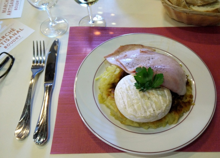 rosti lunch at boudy chateau