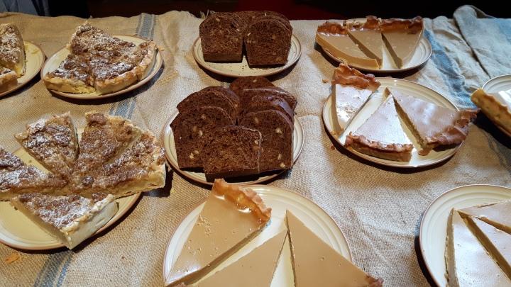 chateau de chillon - desserts