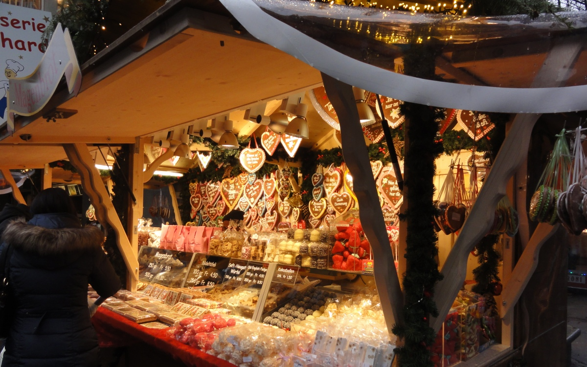 Swiss Christmas Market Food