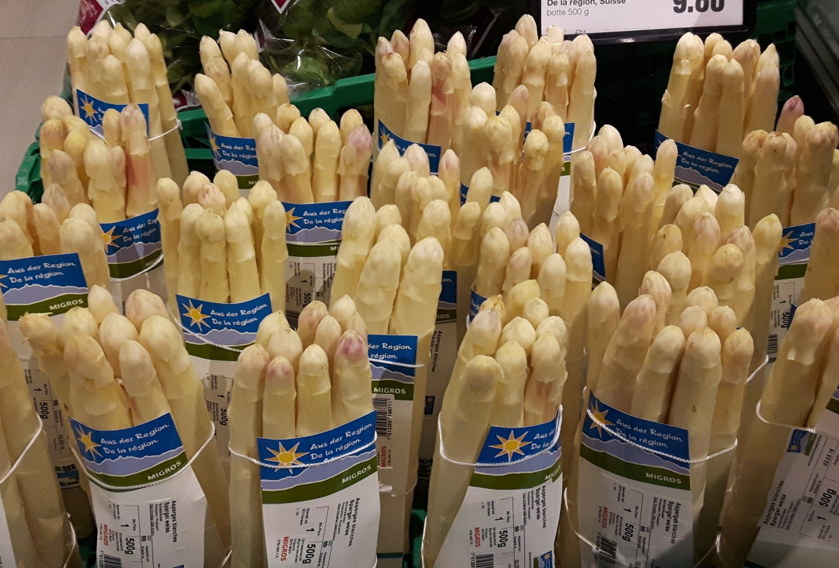 Switzerland Loves White Asparagus: What About You?